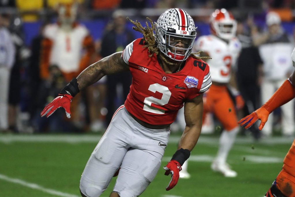 The best pick in the 2020 NFL Draft will be Chase Young © Rick Scuteri / Associated Press