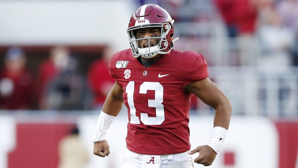 Tua Tagovailoa was taken with the 5th pick in the 2020 NFL Draft © Getty Images