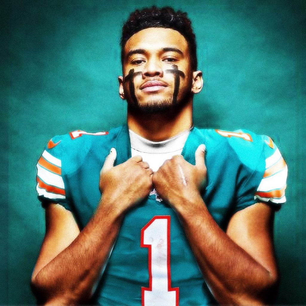 Tua will wear the number 1 shirt in Miami