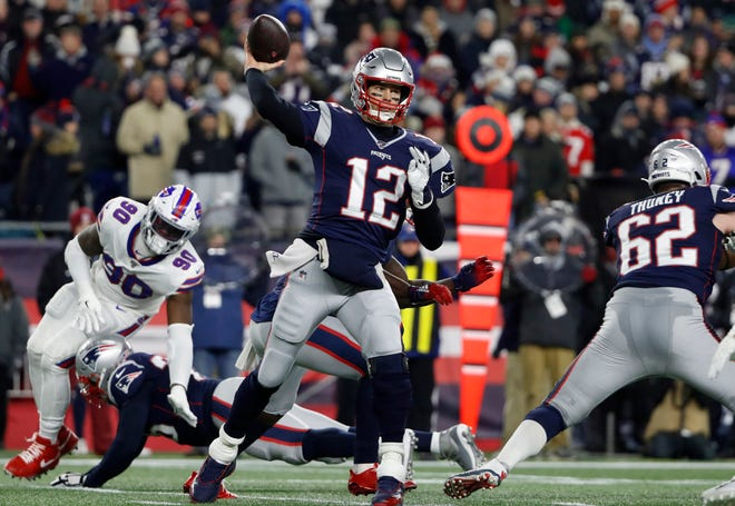 Tom Brady won't be winning the AFC East this year. But what about the Patriots?