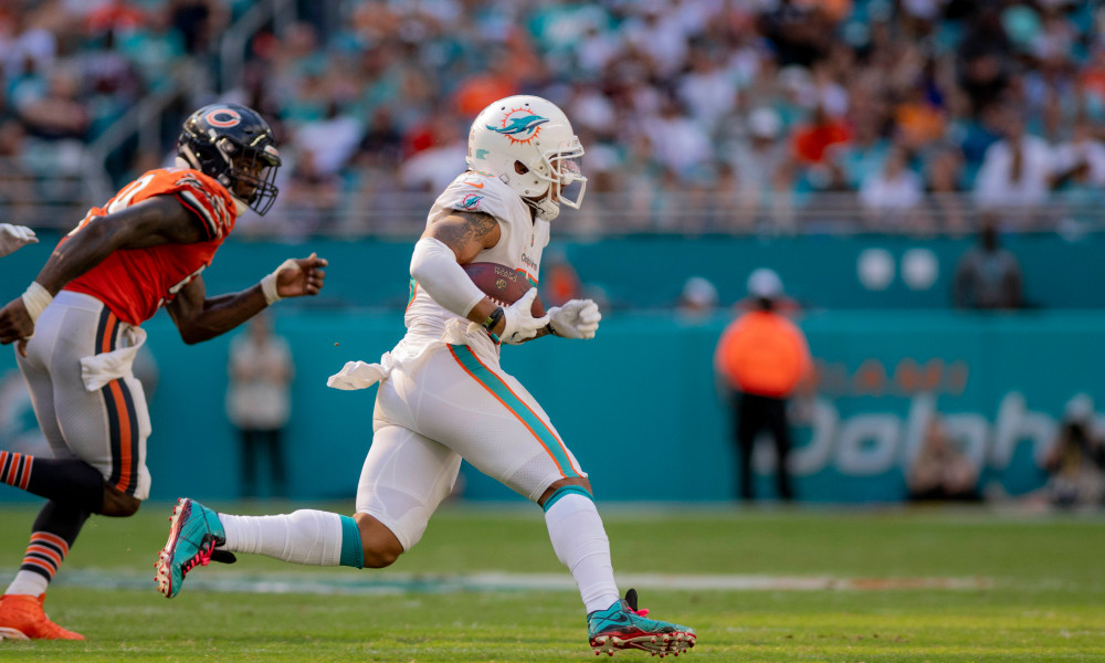 Albert Wilson torched the Bears in 2018 © Douglas DeFelice-USA TODAY Sports