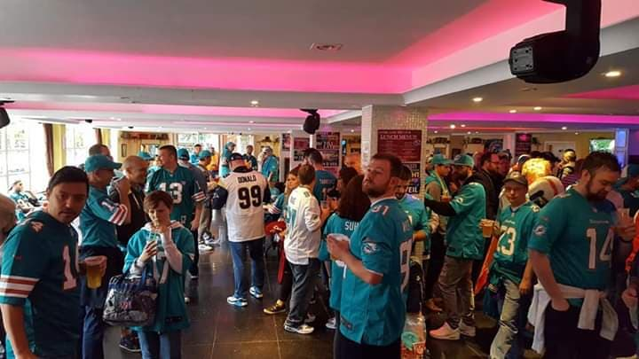 The 2017 Dolphins Saint meet up was a huge success