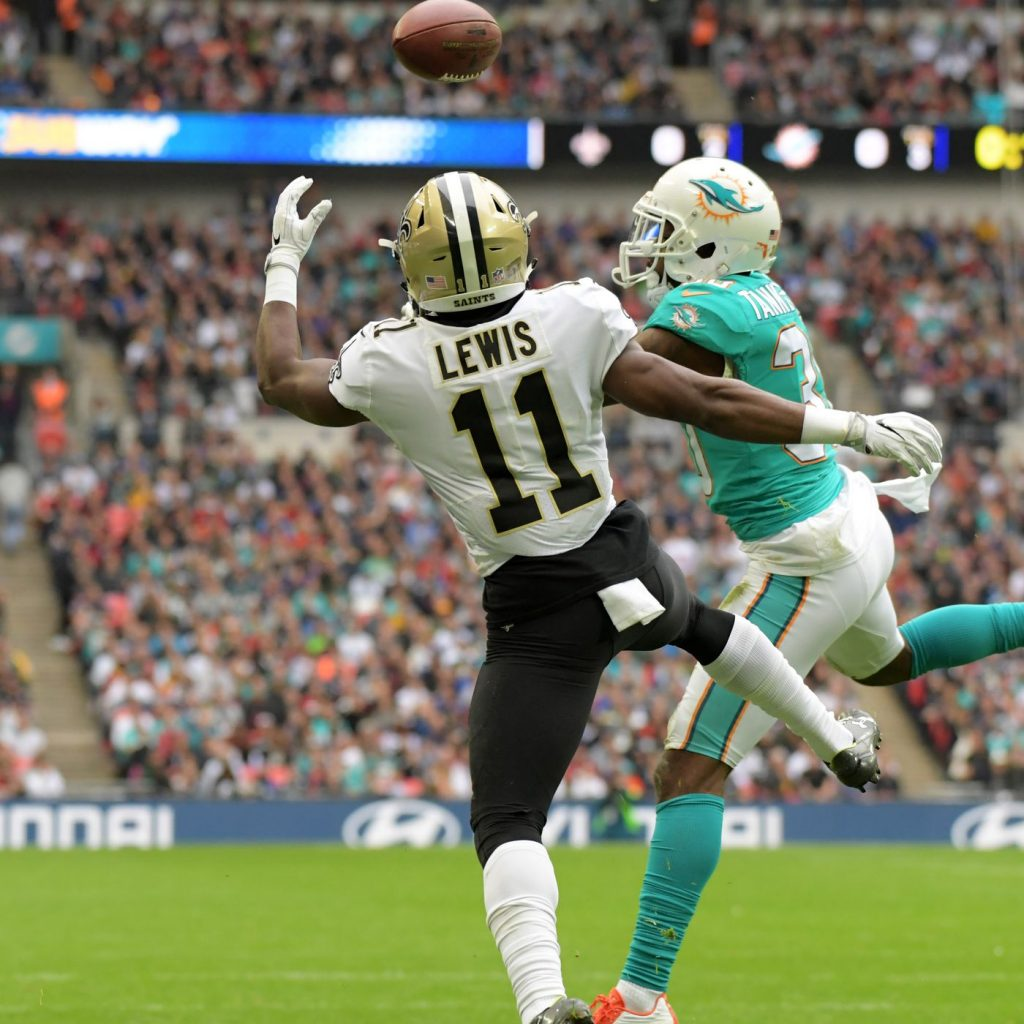 Cordrea Tankersley made his NFL debut in London against the Saints © Kirby Lee-USA TODAY Sports