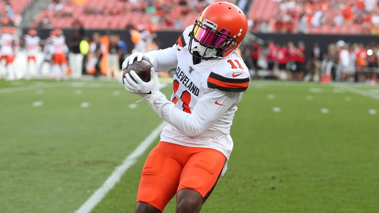 Antonio Callaway flashed great potential and off-field troubles in his time in Cleveland