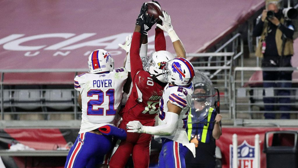 AFC East Watch...Bills lose with 2 seconds remaining to DeAndre Hopkins Hail Mary catch