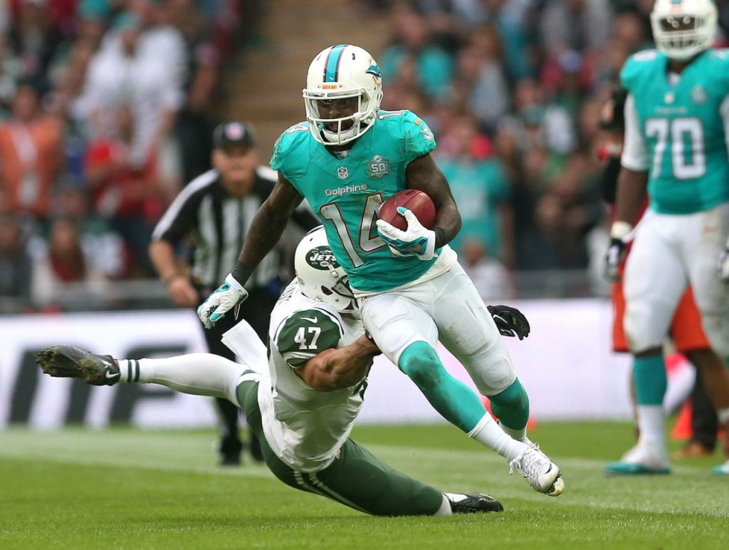Dolphins lose to Jets in the international series